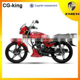 Chinese cheap CG125 motorbikes 4 stroke engine gas motor for wholesale