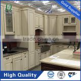 Ivory white raised panel door kitchen cabinet mordern style kitchen furniture