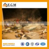 Rescue Simulative Training Center Scale Model for Exhibition