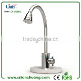 Cheapest Promotional Silver Water faucet shape LED table lamp DF-LP0802L