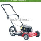 "22"" hand push gasoline lawnmower with SIDE DISCHARGE grass cutter and garden tools (CJ22TZWB60)"