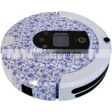 Blue and white china Housekeeping Auto Recharge Dust Ball Robot Vacuum