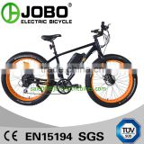CE EN15194 Electric Full Suspension Fat Bike Mid Drive Motor 500W