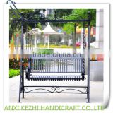KZ140127 2 seats outdoor garden standing bench Patio Swings                                                                         Quality Choice