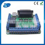 Mach 3 cnc 5 axis breakout board for stepper motor driver