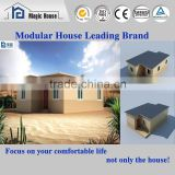 Earthquakeproof quick installation steel structure luxury modern prefabricated house                                                                                                         Supplier's Choice