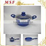 MSF-6659 As forged aluminum fancy looking 24*11cm casserole hot pot handle with silicon coating
