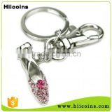 Wholesale Manufacturers Custom Ballet Shoe Keychain