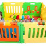 baby large playpen & baby product & baby playpen with gate and play panel
