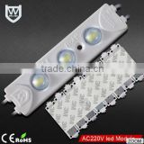 CE rohs certification good price waterproof high power 3 chips 5730 led smd module for channel letter / light box