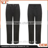 2016 New good design long black Plus Size 100% cotton new men coat pant designs