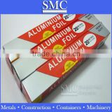 aluminum foil roll(edge banding,food packaging, containers, cooking, freezing,wrapping, storing)