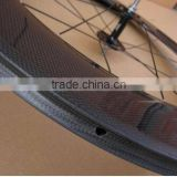carbon bicycle wheel with hubs and clincher 88mm superlight carbon fixed gear front tubular wheel set basalt braking