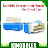 EcoOBD2 Diesel Car Chip Tuning Box Plug and Drive OBD2 Chip Tuning Box Lower Fuel and Lower Emission in stock