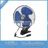 HF-808 8 Inch Dc 12v/24v Can Fan Car Blower Fan Car Heater Fan With CE Certificate Cigarette Plug
