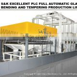 Fully Automatic Glass Aquarium Making Furnace Glass Fusing Furnace