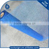 Blue color high strength alkaline resistant fiberglass wire mesh, concrete reinforcement fiberglass mesh for mosaic factory