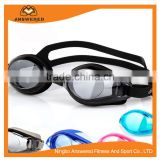 Swimming Goggles Adult Clear Anti Fog Waterproof Pc lens Swim Goggles with Free Plastic Case for Men and Women