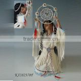 18inch new vintage Collection native Porcelain indian Dolls girls toys