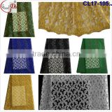 Chowleedee CL17-105 Royal blue tulle french lace fabric,top quality french lace material for dress
