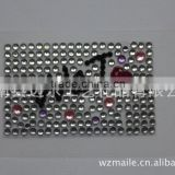 mobile phone bling crystal diamond sticker rhinestone acrylic sticker multi-style/acrylic sticker