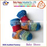 All cotton anti slip baby shoe socks