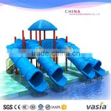 VASIA Customized Design Private swimming pool fiberglass water slide for home                                                                         Quality Choice                                                     Most Popular