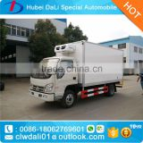 FOTON 3000kg freezer truck reefer truck for meat, sea food ice cream