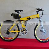 folding 26inch buy electric bike with 250W motor and alloy frame