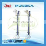 JINLU fully stocked pure titanium/titanium alloy femur & reconstruction interlocking nail, bone nail, titanium nail
