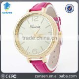 Fashion Geneva Brand Children Quartz Watch Student Leather Strap Wristwatches