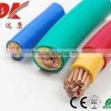 pvc insulated copper wire braid screen cable single core copper pvc insulated cable 450/750 v pvc insulated 25mm2 cable