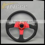 350MM PU Car Seat Steering Wheel, Racing Universal Steering Wheel Making Machine For Sale