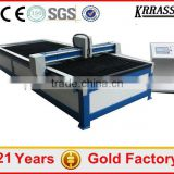 Fast delivery cnc plasma and flame cutting machine , work table plasma cutter machine with CE
