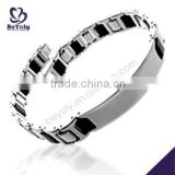China Manufacturer 2015 latest stainless steel gold bracelet designs children
