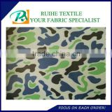100% Polyester polyester 600D military waterproof backpack fabric/digital camouflage printed oxford fabric pu coated