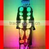 Programmable Stage Show LED Light Robots Costume Suit