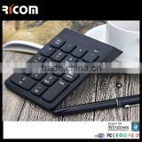 19 keys 2.4G Wireless Numeric Keypad,Chocolate 2.4G Mini Wireless Laptop usb metal numeric keypad-G1-Shenzhen Ricom