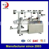kl- - CNC three position precision lamination and exhaust machine used for pvc film