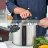 6L Aluminium Polished Explosion-Proof Competitive Price Electric Pressure Cooker With Glass Lid