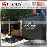 CH-DS072 shipping container shop design for coffee bar
