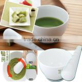 kitchenware cooking kitchen tools utensils japanese green tea gifts pottery porcelain cups mortar and pestle grinder sets 76133