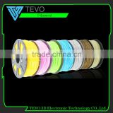 27 colors Optional 3d printer filament PLA/ABS 1.75mm/3mm 1kg plastic Rubber Consumables Material