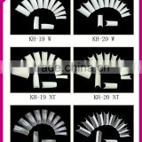 ABS half cover full cover artificial nail tips