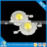 Wholesales high power led bridgelux chip 1 watt led diodes white red yellow green warm white blue