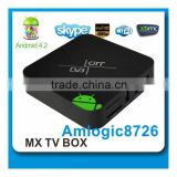 factory best dual core XBMC mx android tv box HDD receiver media star ip tv dvb T2 HD18T2