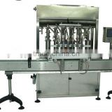 Automatic linear piston 8-nozzle sauce/paste bottle Filling Machine with CE certificated factory price