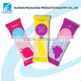 Plastic candy bar seal bag packaging in China