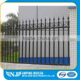 Professional Supplier Easily Assembled Decorative Power Coated Wrought Iron Fence Designs