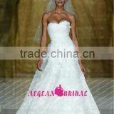 R13622 2013 Barcelona summer imported saudi arabian wedding dresses